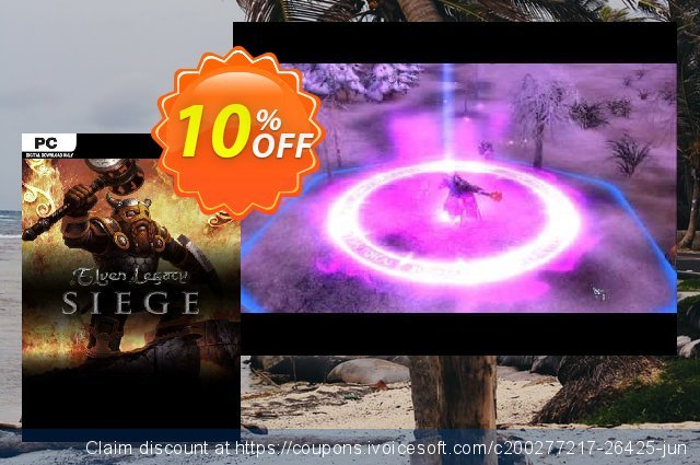 Elven Legacy Siege PC discount 10% OFF, 2021 Spring offering discount