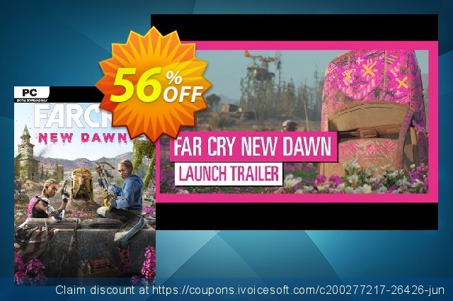 Far Cry New Dawn PC + DLC discount 58% OFF, 2020 Halloween offering sales