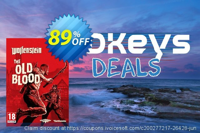 Wolfenstein: The Old Blood PC (Germany) discount 88% OFF, 2021 Happy New Year promo sales