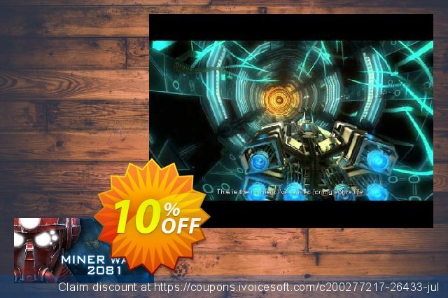 Miner Wars 2081 PC discount 10% OFF, 2021 New Year offering sales