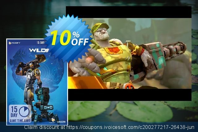WildStar 15 Day Game Time Card PC discount 10% OFF, 2021 New Year's Weekend discounts