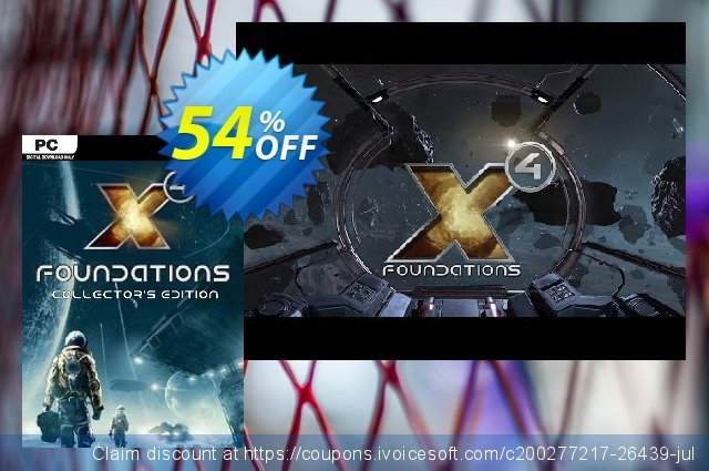 X4: Foundations Collectors Edition PC discount 31% OFF, 2020 Halloween promo