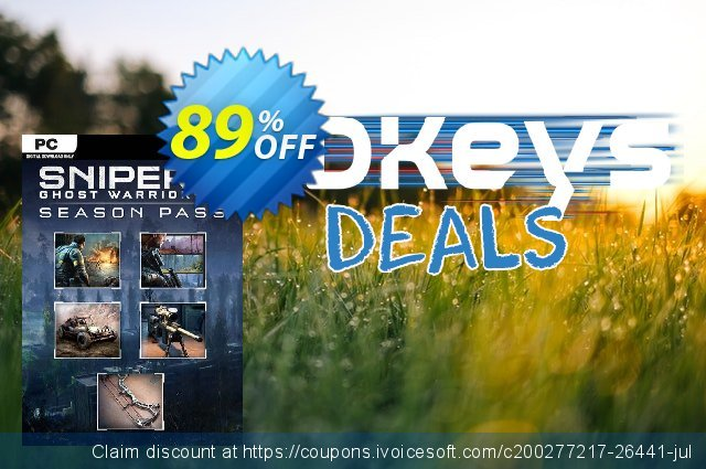 Sniper Ghost Warrior 3 - Season Pass PC discount 56% OFF, 2021 New Year's Day deals