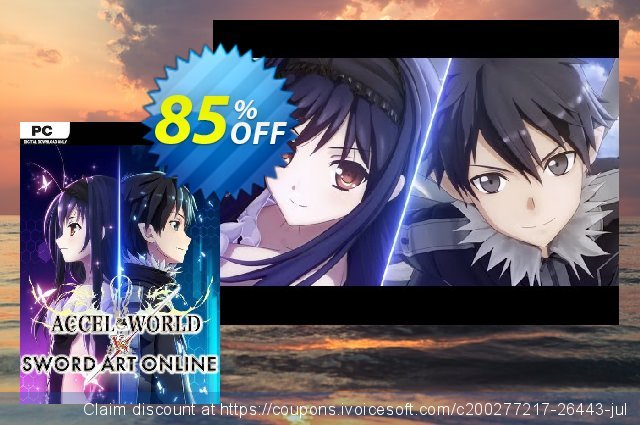 Accel World VS. Sword Art Online - Deluxe Edition PC discount 79% OFF, 2020 Thanksgiving offering sales