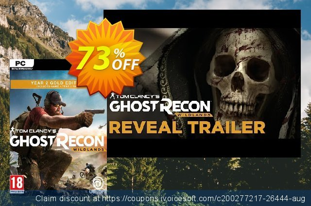 Tom Clancy's Ghost Recon Wildlands Gold Edition (Year 2) PC discount 53% OFF, 2020 Thanksgiving Day offering sales