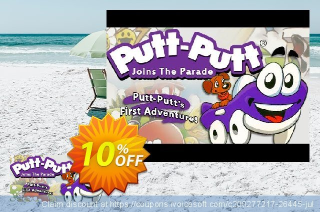 PuttPutt Joins the Parade PC discount 10% OFF, 2021 New Year's Weekend offering sales