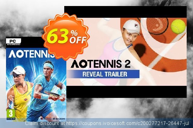 AO Tennis 2 PC discount 49% OFF, 2021 Mother's Day offering sales. AO Tennis 2 PC Deal