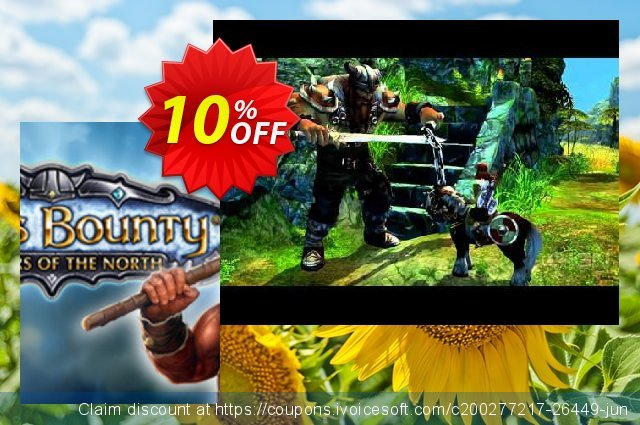 King's Bounty Warriors of the North PC discount 10% OFF, 2021 Happy New Year offering sales