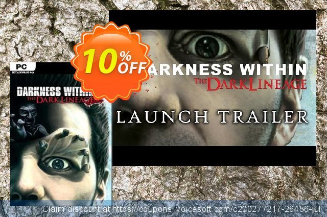 Darkness Within 2 The Dark Lineage PC discount 10% OFF, 2021 Happy New Year offering sales