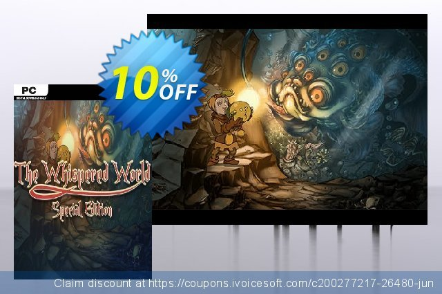 The Whispered World Special Edition PC  서늘해요   가격을 제시하다  스크린 샷