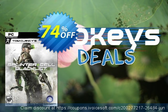 Tom Clancy's Splinter Cell Blacklist PC discount 74% OFF, 2021 Happy New Year offering deals
