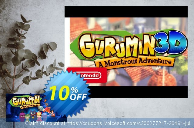 Gurumin A Monstrous Adventure PC discount 10% OFF, 2021 Happy New Year offering sales