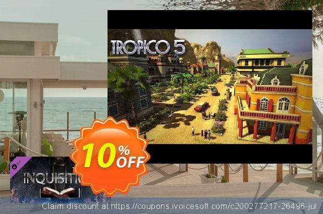 Tropico 5 Inquisition PC discount 10% OFF, 2021 New Year promotions