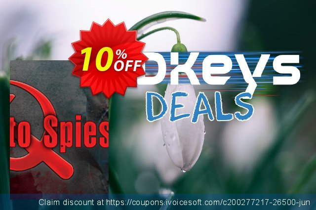 Death to Spies PC discount 10% OFF, 2021 Happy New Year discount