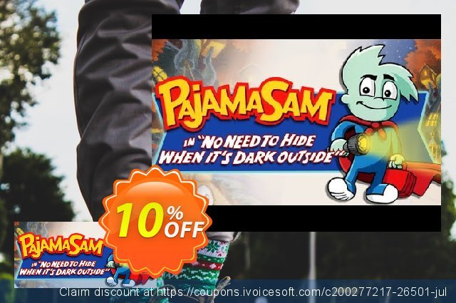 Pajama Sam No Need to Hide When It's Dark Outside PC discount 10% OFF, 2021 New Year's Weekend offering discount