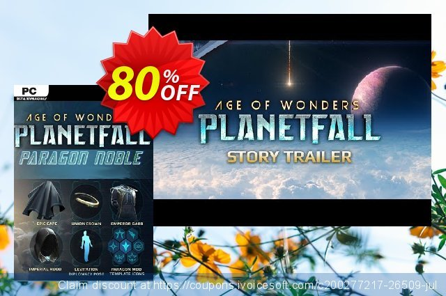 Age of Wonders: Planetfall DLC PC discount 80% OFF, 2021 Spring offering sales