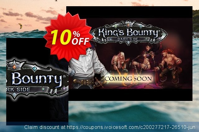 King's Bounty Dark Side PC discount 10% OFF, 2021 New Year offering sales