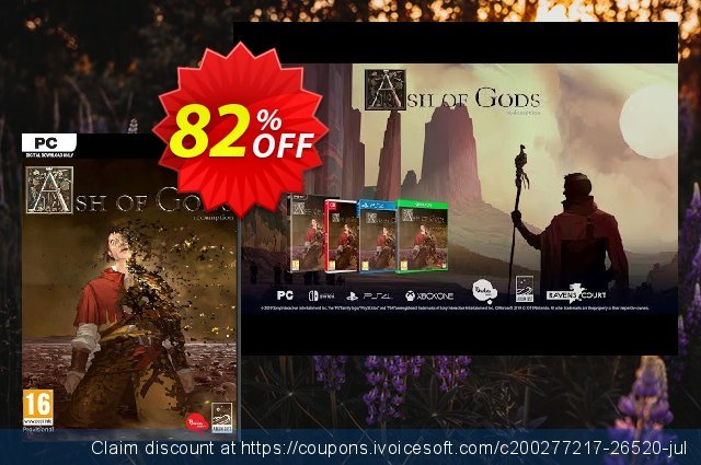 Ash of Gods: Redemption PC discount 85% OFF, 2021 January offering discount
