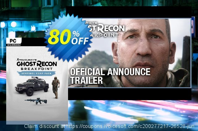 Tom Clancy's Ghost Recon Breakpoint DLC discount 80% OFF, 2020 Thanksgiving Day discount