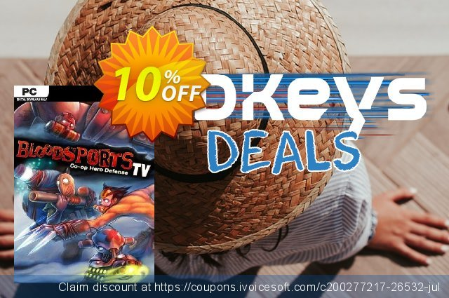 Bloodsports.TV PC discount 10% OFF, 2021 New Year's Day offering sales