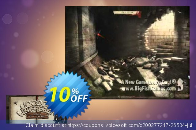 Voodoo Whisperer Curse of a Legend PC discount 10% OFF, 2021 January promotions
