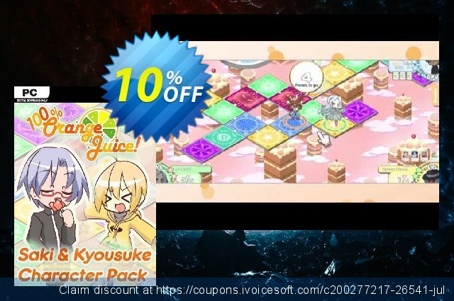 100% Orange Juice Saki & Kyousuke Character Pack PC discount 10% OFF, 2021 January offering deals