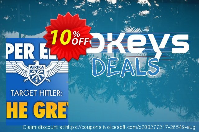 Sniper Elite 3 Target Hitler Hunt the Grey Wolf PC discount 10% OFF, 2021 Happy New Year offering sales