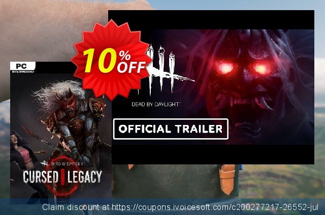 Dead by Daylight - Cursed Legacy Chapter PC discount 23% OFF, 2021 New Year discounts