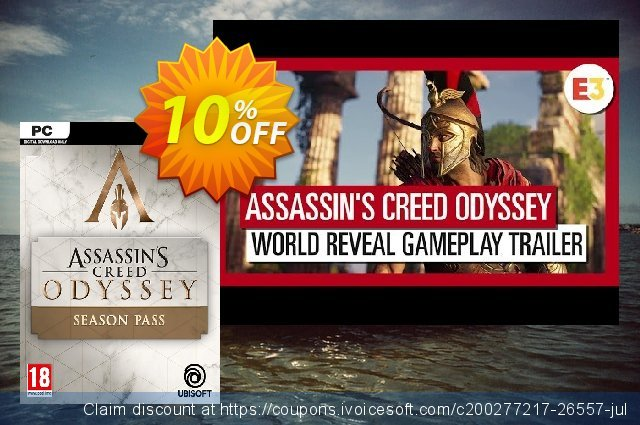 Assassins Creed Odyssey Season Pass PC  신기한   할인  스크린 샷