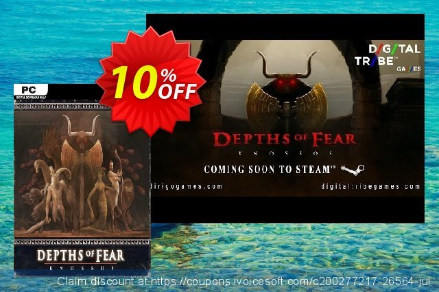 Depths of Fear Knossos PC discount 10% OFF, 2021 New Year's Weekend offering sales