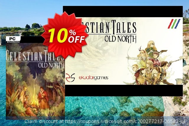 Celestian Tales Old North PC discount 10% OFF, 2021 Happy New Year offering sales