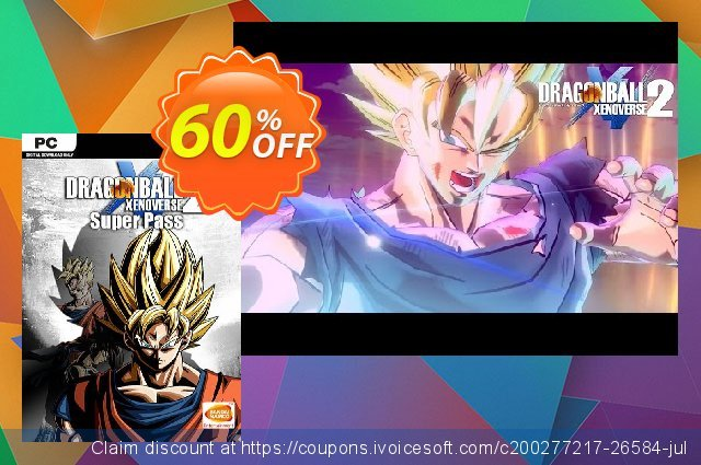 Dragon Ball Xenoverse 2 - Super Pass PC discount 35% OFF, 2021 Happy New Year offering sales