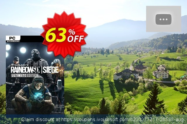 Tom Clancy's Rainbow Six Siege - Ultimate Edition PC discount 49% OFF, 2021 New Year's Day offering sales