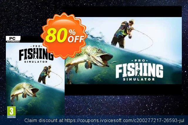 Pro Fishing Simulator PC discount 10% OFF, 2021 Spring deals