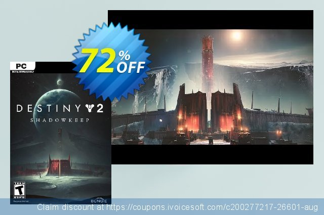 Destiny 2: Shadowkeep PC (EU) discount 18% OFF, 2021 New Year offering sales