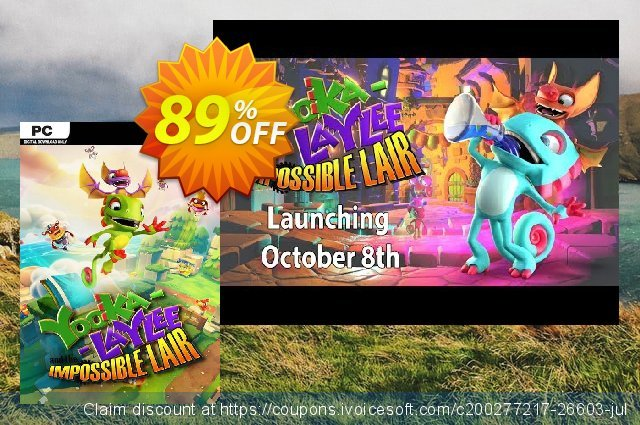 Yooka-Laylee and the Impossible Lair PC  놀라운   세일  스크린 샷