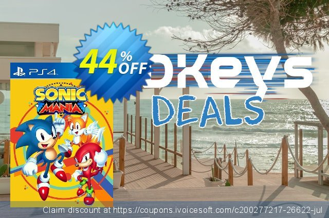 Sonic Mania PS4 + DLC (US) discount 27% OFF, 2020 Halloween deals