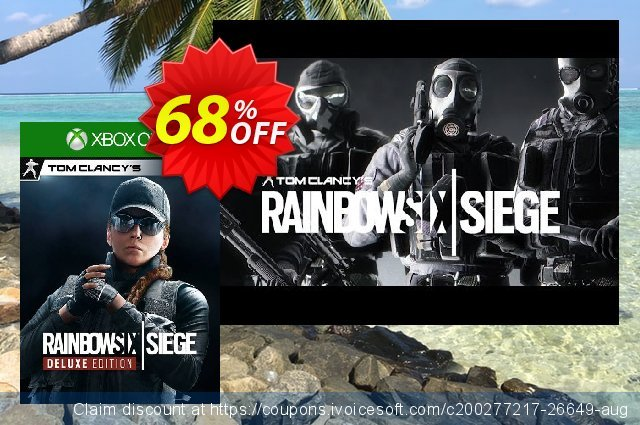 Tom Clancy's Rainbow Six Siege Deluxe Edition Xbox One UK discount 52% OFF, 2021 Spring sales