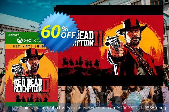Red Dead Redemption 2: Ultimate Edtion Xbox One (UK) discount 59% OFF, 2021 New Year deals