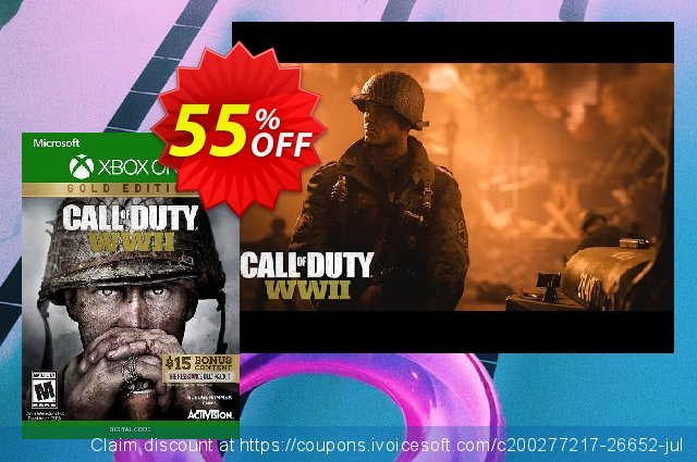 Call of Duty WWII - Gold Edition Xbox One (US)  신기한   세일  스크린 샷