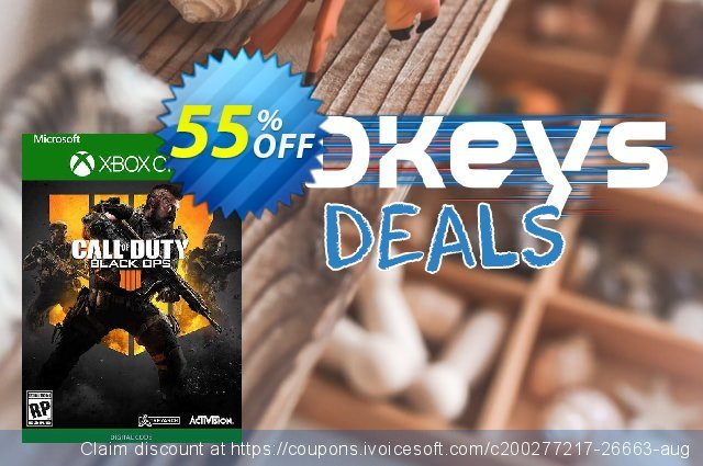 Call of Duty: Black Ops 4 Xbox One (UK) discount 62% OFF, 2021 Library Lovers Month offering sales