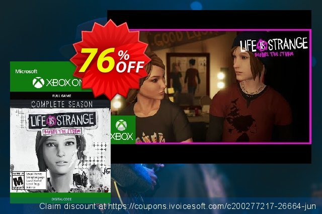 Life is Strange Before the Storm - Complete Season Xbox One (UK) 令人吃惊的 折扣码 软件截图