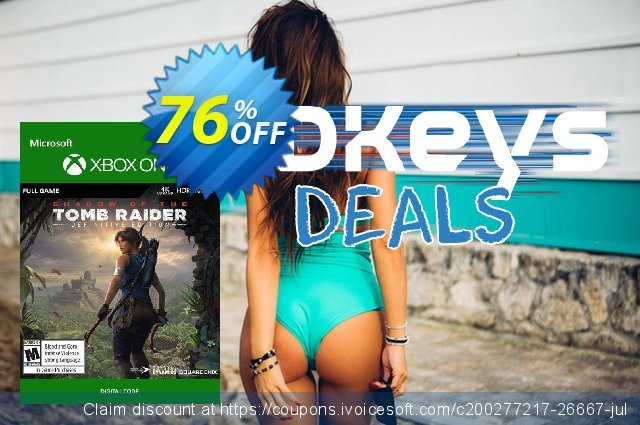 Shadow of the Tomb Raider Definitive Edition Xbox One discount 58% OFF, 2021 January promotions