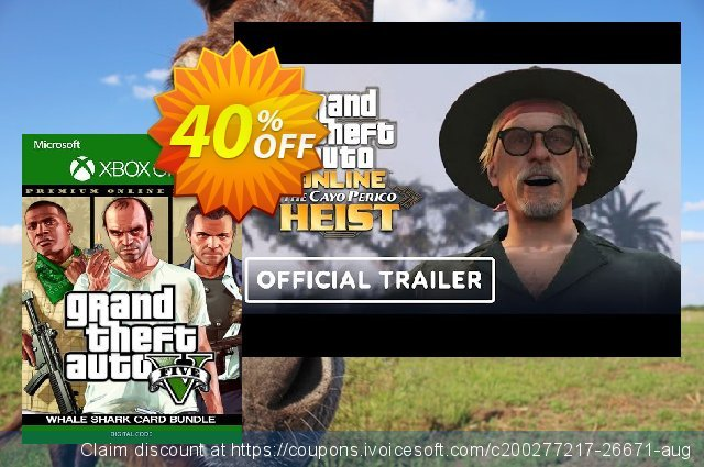 Grand Theft Auto V: Premium Online Edition & Whale Shark Card Bundle Xbox One 驚くこと 昇進 スクリーンショット