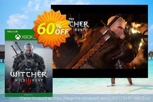 The Witcher 3: Wild Hunt Xbox One (US) discount 44% OFF, 2021 New Year's Day offering discount