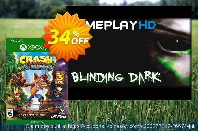 Crash Bandicoot N. Sane Trilogy Xbox One (US)  위대하   제공  스크린 샷