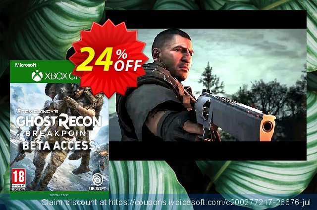 Tom Clancys Ghost Recon Breakpoint Beta Xbox One discount 90% OFF, 2021 New Year's Weekend promo