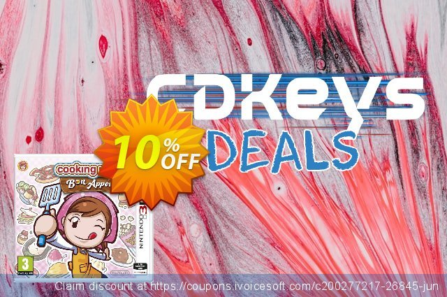 Cooking Mama 5: Bon Appétit! 3DS - Game Code discount 10% OFF, 2021 World Environment Day offering sales. Cooking Mama 5: Bon Appétit! 3DS - Game Code Deal