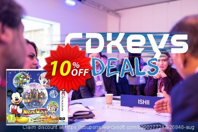 Disney Magical World 3DS - Game Code discount 10% OFF, 2020 Xmas Day deals