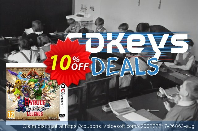 Hyrule Warriors Legends 3DS - Game Code discount 10% OFF, 2020 Halloween offering sales